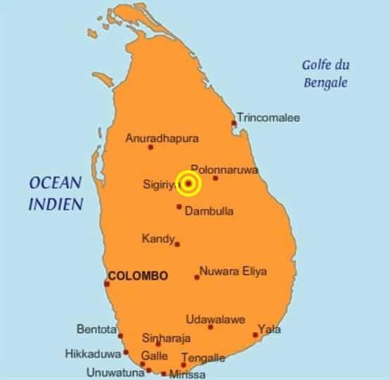 Sri Lanka Carte Ancien Nom.Incontournables Au Sri Lanka Olalalanka